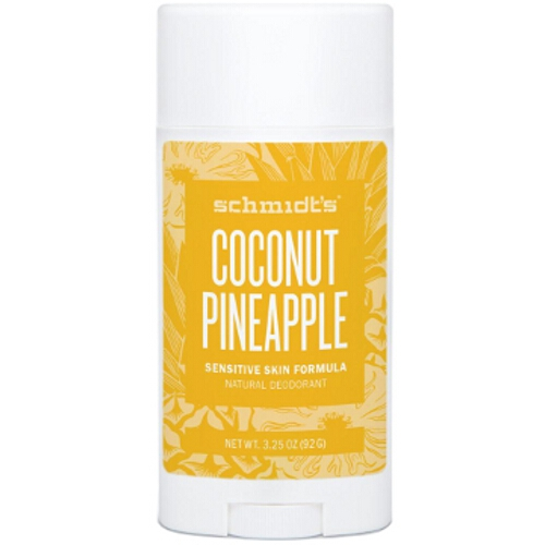 Schmidts Deodorant Coconut Pineapple Sensitive Stick