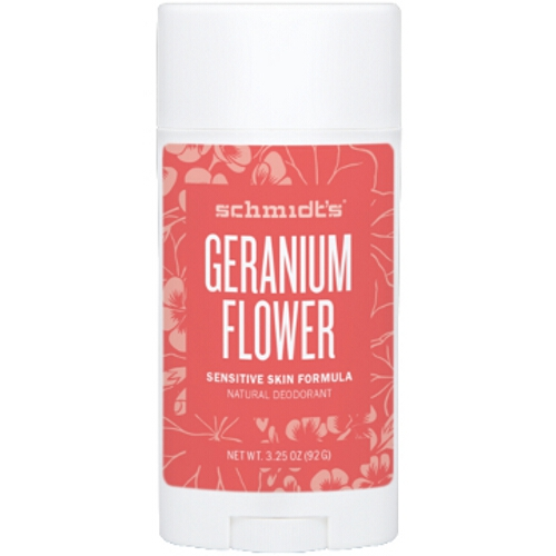 Schmidts Deodorant Geranium Sensitive Stick