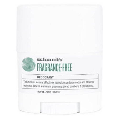Schmidts Deodorant Fragrance Free Travel