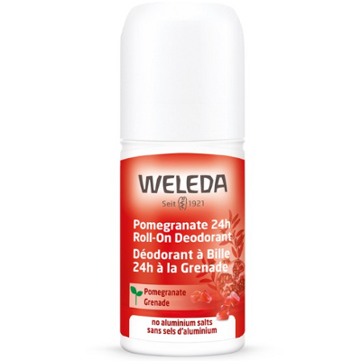 Weleda Roll-On Deodorant - Pomegranate