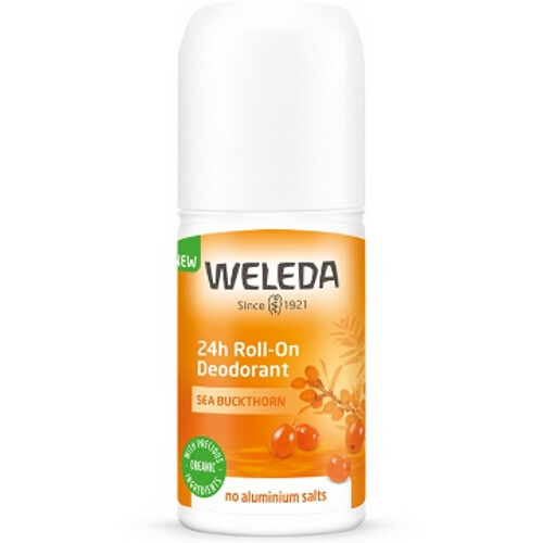 Weleda Roll-On Deodorant - Sea Buckthorn