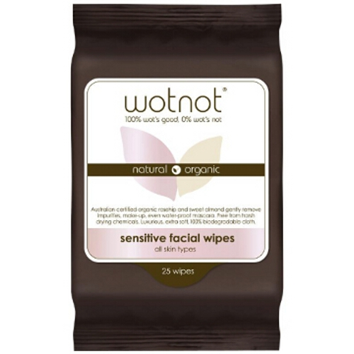 Wotnot Facial Wipes - Normal