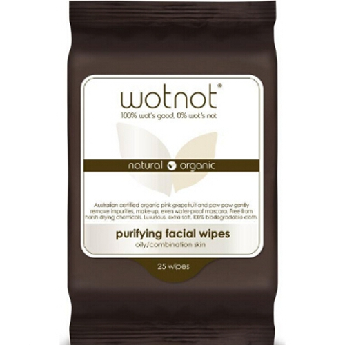 Wotnot Facial Wipes oily sensitive