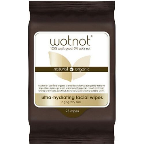 Wotnot Facial Wipes Dry sensitive
